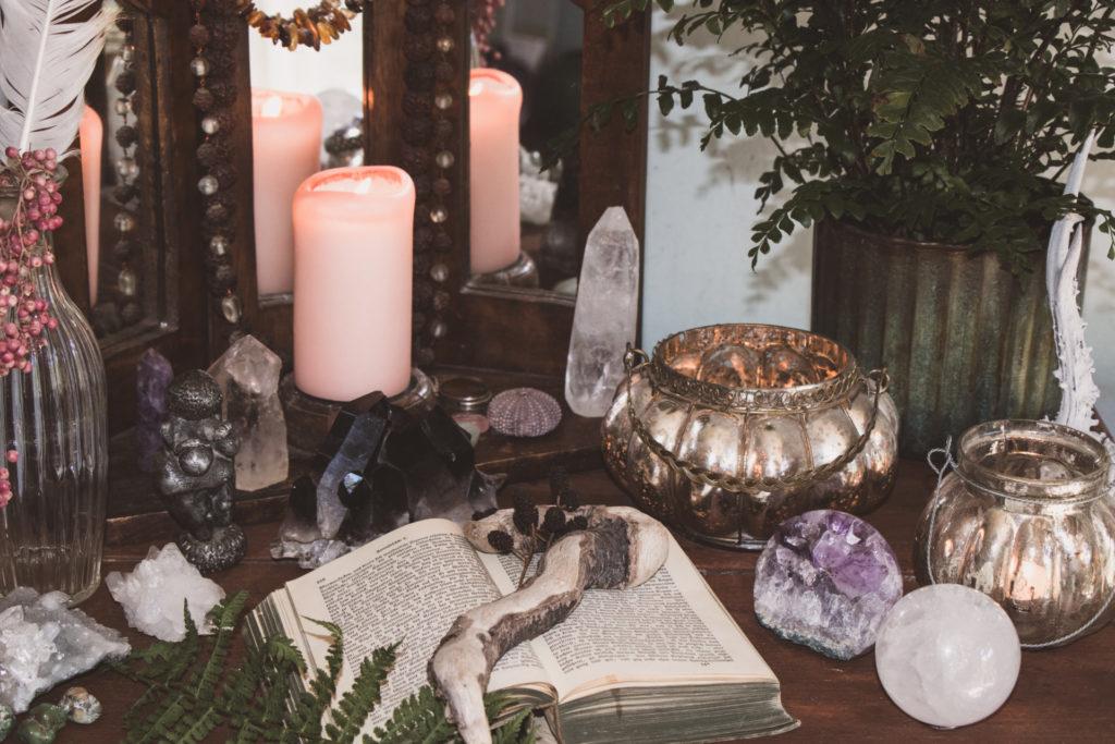 Rauhnacht Altar Anleitung